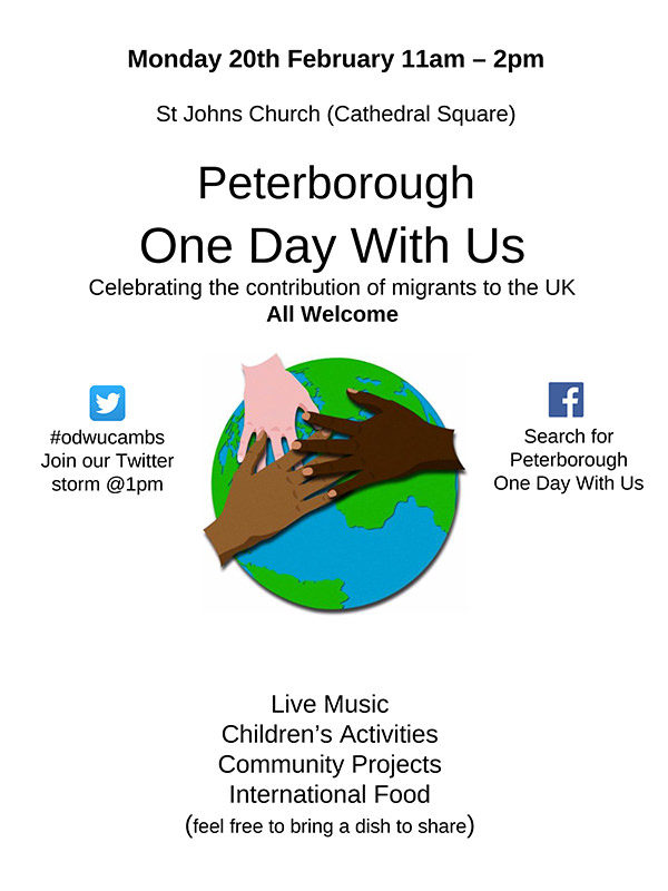 one day with us Peterborough