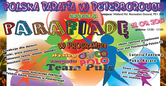 plakat Parafiada 2017