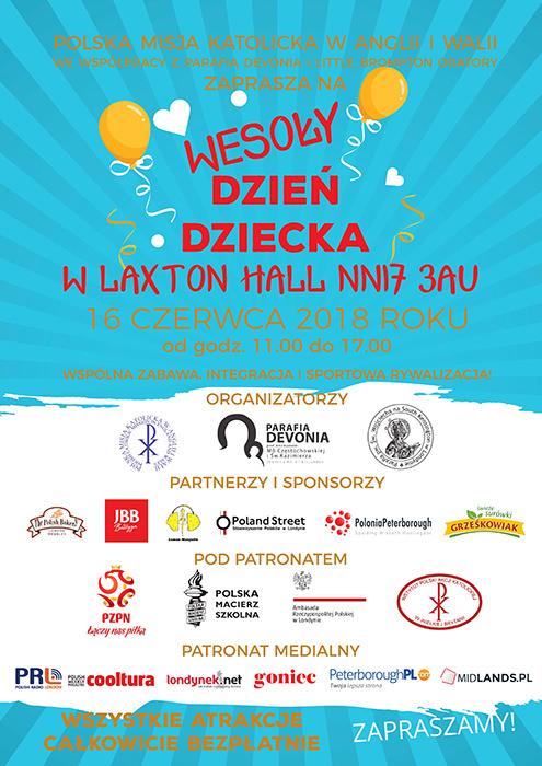 laxton hall 2018 oficjalny plakat